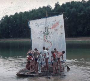 Floßbau 1984
