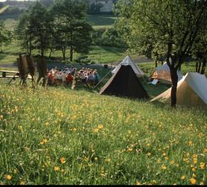 Sommerlager in den 80er Jahren